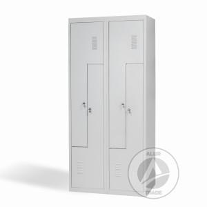 Шкаф одежный металлический ШОГ 400/2-4