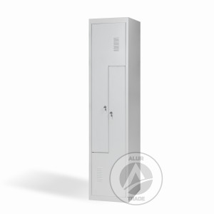 Шкаф одежный металлический ШОГ 400/1-2