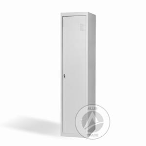 Шкаф одежный металлический ШО 400/1 с перегородкой