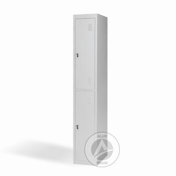 Шкаф одежный металлический ШО 300/1-2