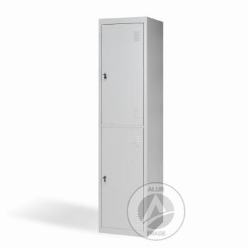 Шкаф одежный металлический ШО 400/1-2