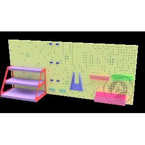 Перфорована панель для зберігання ручного інструменту